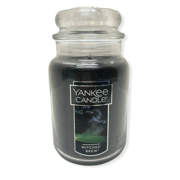 Yankee Candle Witches Brew 22 Oz. Halloween Patchouli Scented Candle New